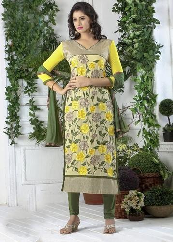 Fashionable Ladies Dress Material