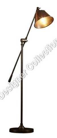 Antique Silver Floor  Lamp