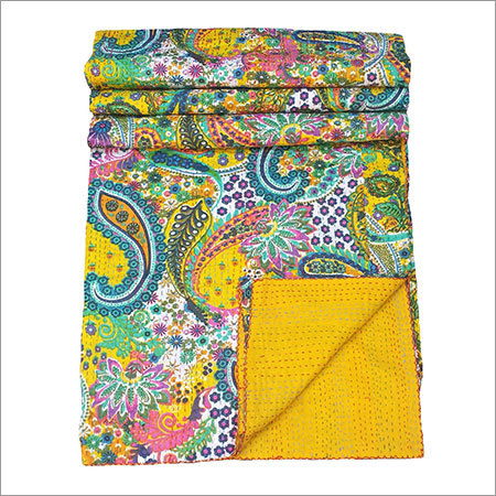 Printed Kantha Quilts