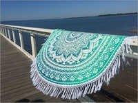 Crochet Round Floor Mat