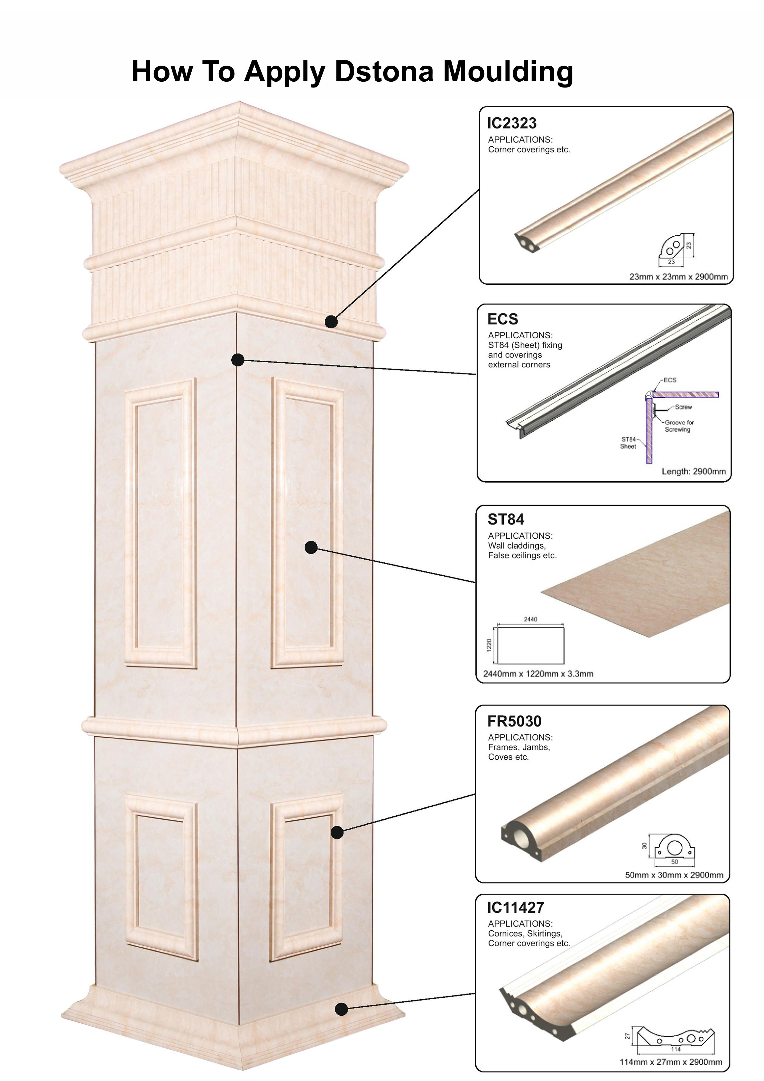 Marble Moulding
