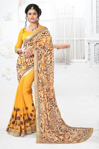 Latest Evening Wear Saree