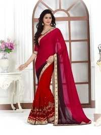Stylish Bridal Saree