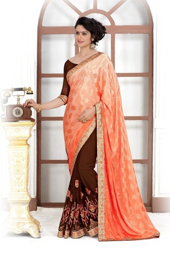 Trendy Wedding Saree
