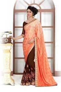 Trendy Wedding Saree