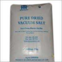 Vacuum Salt
