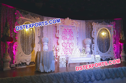 Fiber Panels For Wedding Stage Decorations