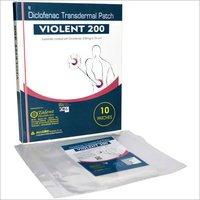 Diclofenac Transdermal Patch 200 mg