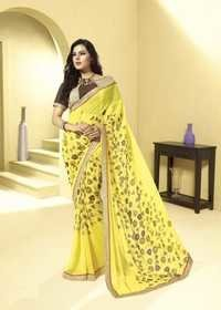 Stylish Bordered Saree