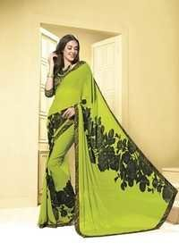 Designer Bordered Printed Saree