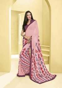 Casual Wear Bordered Saree