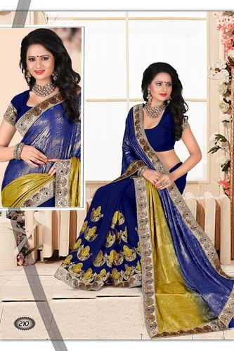 Embellished Party Saree