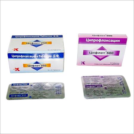 CIFLET 250 & 500 mg