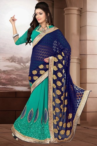 Classic Half and Half Saree