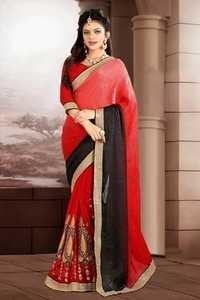 Fancy Classy Bridal Saree