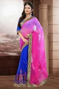 Gorgeous Pink Saree