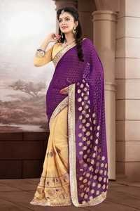 New Heavy Worked Saree