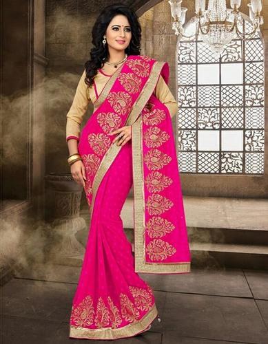 New Fancy Jacquard Saree