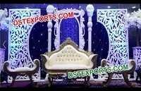 Aladdin Wedding Pillar Stage