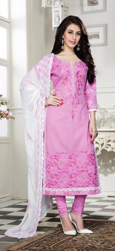 Beautiful Embroidered Dress Material