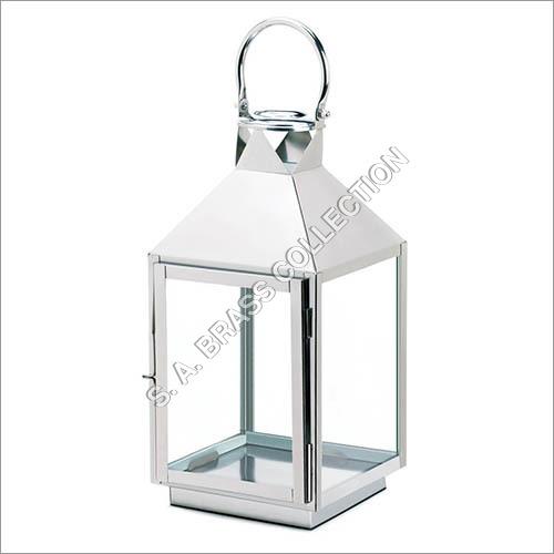 Dapper Large Stainless Steel Lantern