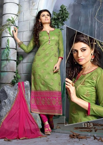 Fancy Chudidar Dress Material