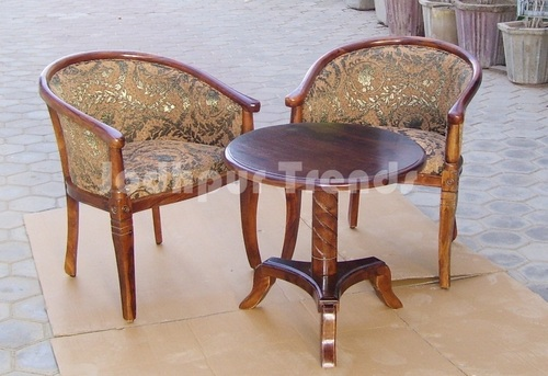 Upholstery Chairs and Table