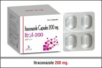 Itraconazole Capsuals 200 mg