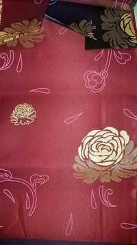 Satin Pearl Print Mattress Fabric