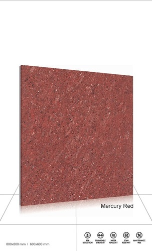 Traventino-crema glazed vitrified tiles