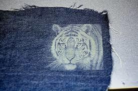 Jeans Engraving job Work
