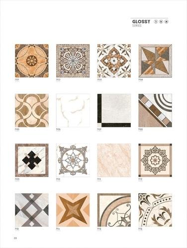 Fiordo-grey glazed vitrified tiles