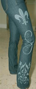 Laser Jeans Engraving Services