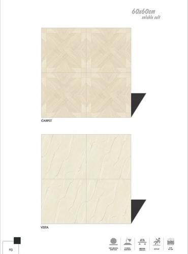 Marbo-crema glazed vitrified tiles