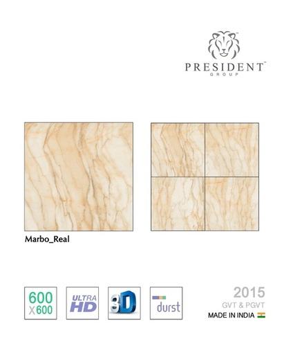 Marbo-real glazed vitrified tiles
