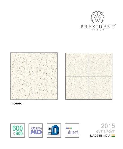 Mosaic glazed vitrified tiles