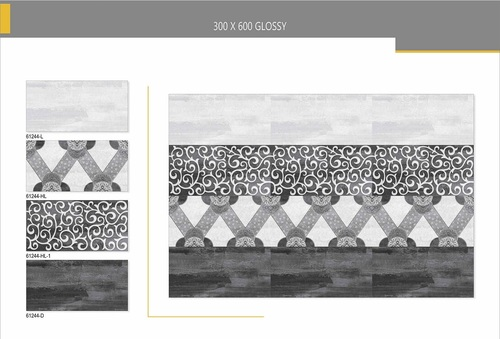 Onyx-white glazed vitrified tiles