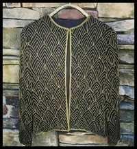 Art Deco Beaded Jackets For Evening Wear