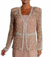Beaded Jackets For Mother of Bride