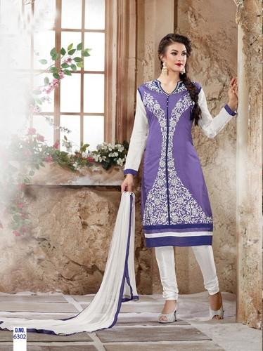 Beautiful Purple Salwar Kameez