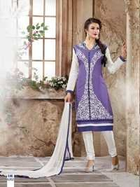 Beautiful Purple Salwar Kameez