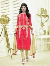 Designer Red Salwar Suit