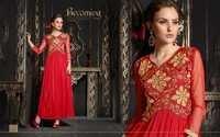 Floor Lenght Net Gown