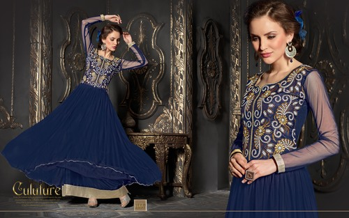 Modern Stylish Ethnic Gown