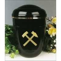 Hammered Brass Metal Cremation Urns