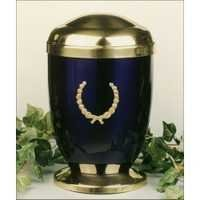 Cube Brass Metal Cremation Urns