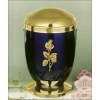 Designer Brass Metal Cremation Urn