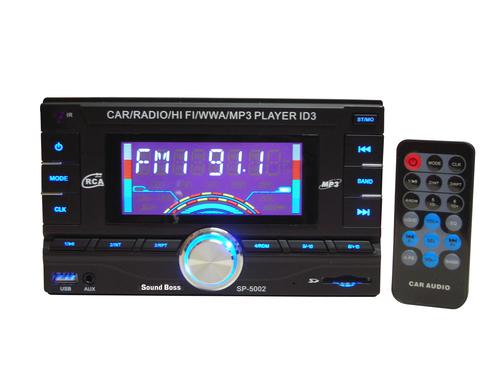 Sound Boss SBDD-01 Car Media Player