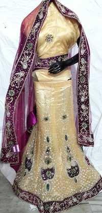 Designer Bridal Lehenga chunni
