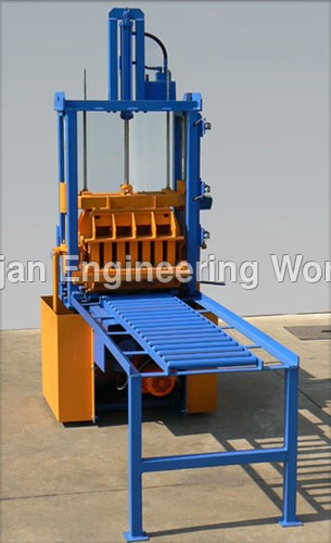 4 Block Brick Making Machine